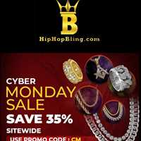 Get them deals and savings on iced out rings and jewelry from Hip Hop Bling!