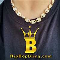 Bubble Marine link chain, only from Hip Hop Bling