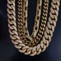 Only the best iced out cuban links, catch that drip from Hip Hop Bling