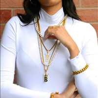 Layered Chains, hip hop chains for sale - Hip Hop Bling