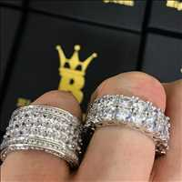 High End Iced Out Rings
