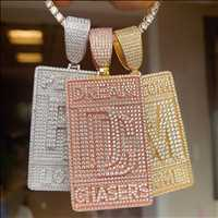 Customize your pendant, make it your own with HipHopBling.com