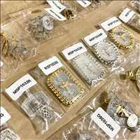 Gold Hip Hop Pieces And Bling Bing Jewelry