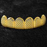 Real, custom gold grills no gimmicks. Hip Hop Bling