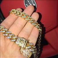 High end jewelry all the way from Hip Hop Bling, no compromises.