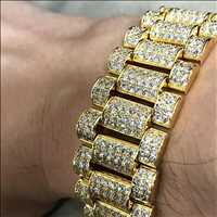 BLing BLing Wristwear Covered In Ice