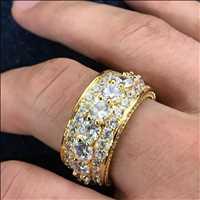 Amazing shine eternity rings #BlingBling