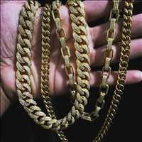 Iced gold link chains, cop the coldest hip hop jewelry from Hip Hop Bling