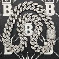 Iced Out Medley, diamond drenched chains and the illest iced out jewelry for sale from Hip Hop Bling