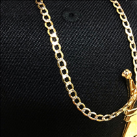 Solid 10K gold chain, expect only quality from Hip Hop Bling