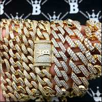 FINE hip hop jewelry, check those cuban links we use only the highest quality ice at Hip Hop Bling