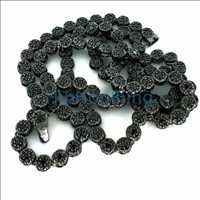 Black Cluster Bling Chain