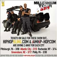 B2K Millennium Tour ticket giveaway from Hip Hop Bling