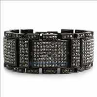 Black Bling Bling Bracelet