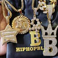 Some classic iced out pieces, order the best custom jewelry from Hip Hop Bling