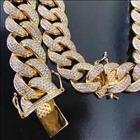Baller cuban chains and bling bracelet for sale