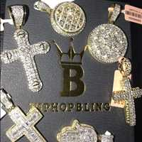 Genuine diamonds with new designs dropping from Hip Hop Bling