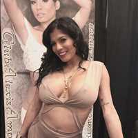 Latina Princess Una Hermosa rocking that custom jewelry from HHB