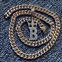 8MM Gold Diamond Chain