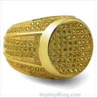 Hip Hop Bling Rings for this Holiday and Birthday Gifts