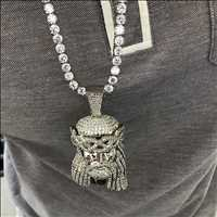 Iced Out Jesus Piece From Hip Hop Bling
