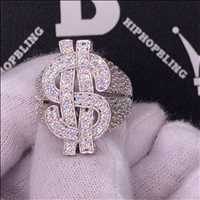 Big money iced out ring, new styles incoming from Hip Hop Bling