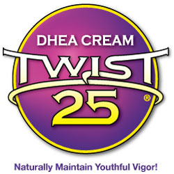 Twist 25 DHEA cream