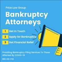 Chapter 7 Bankruptcy Attorneys in Texas Price Law Group COVID-19 Related Filings