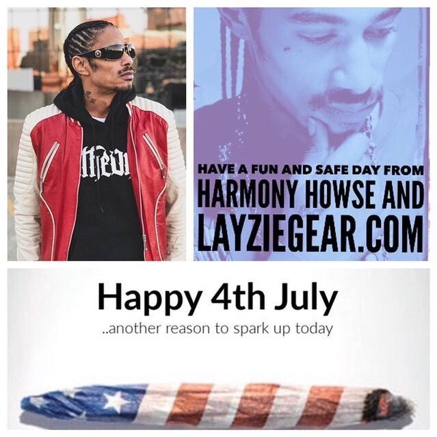Happy 4th of July, roll wit me - Layzie Bone