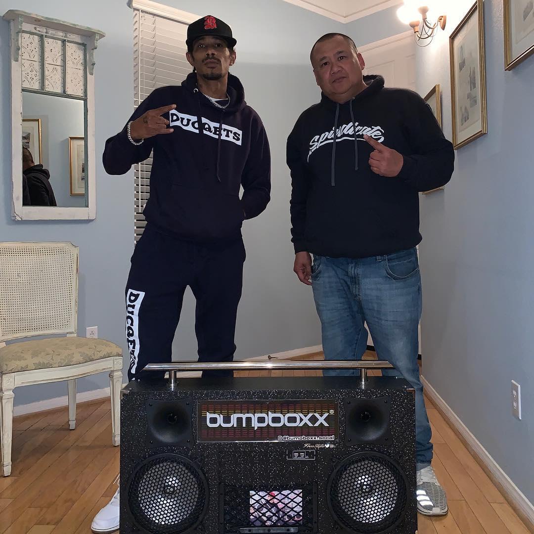 Shoutout to my homie Les at Bump Boxx Social - Layzie Bone