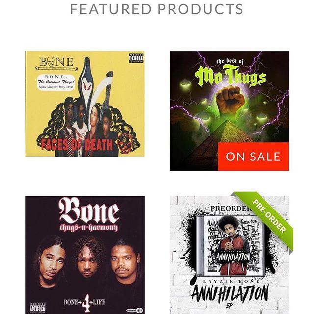 Layzie Gear Iconic Albums - Layzie Bone