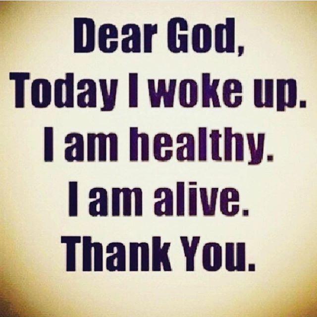 Dear God, I woke up today and it's a good day. Thank you - Layzie Bone