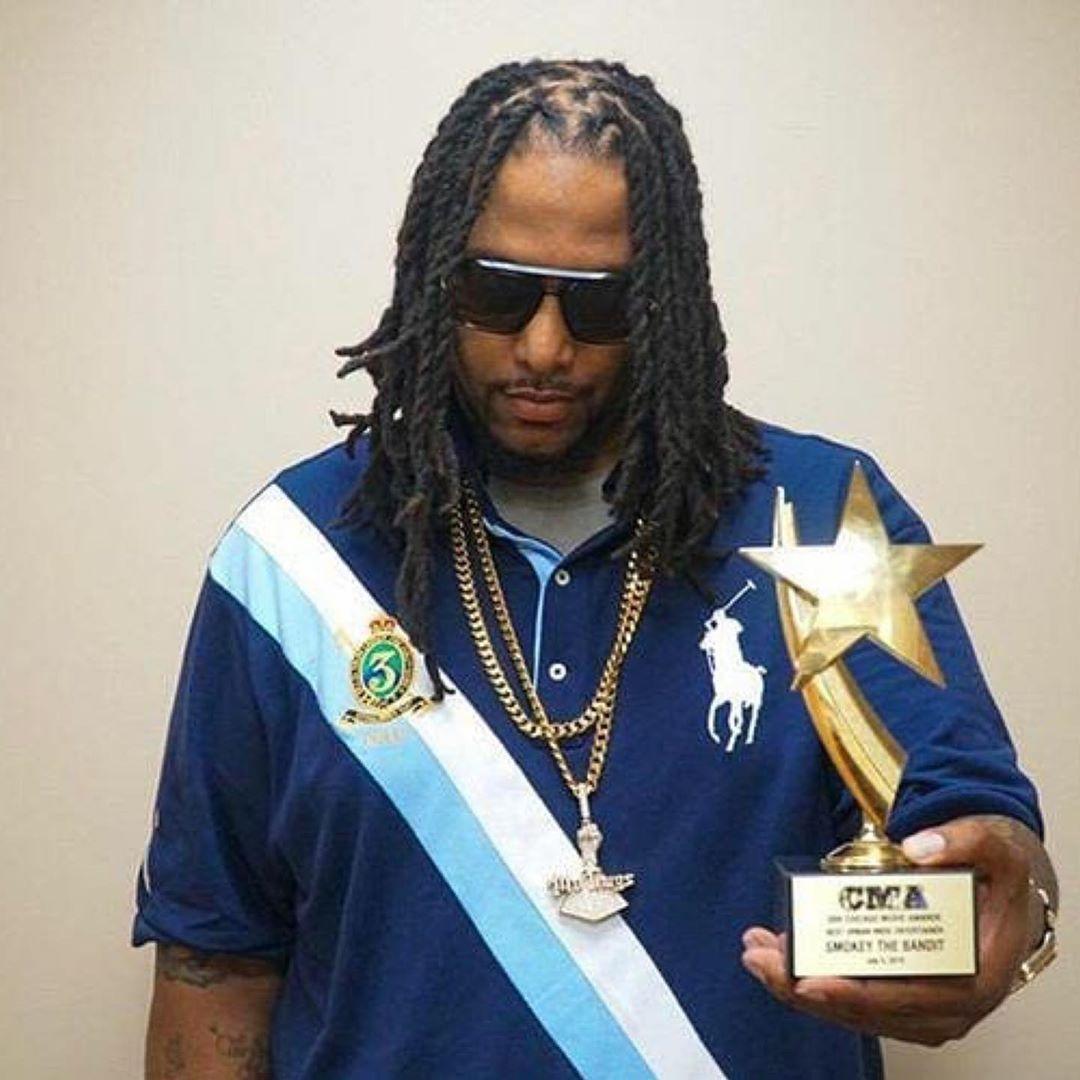 Best Urban Indie Entertainer, thank you CHICAGO - Smokey da Bandit - Layzie Bone