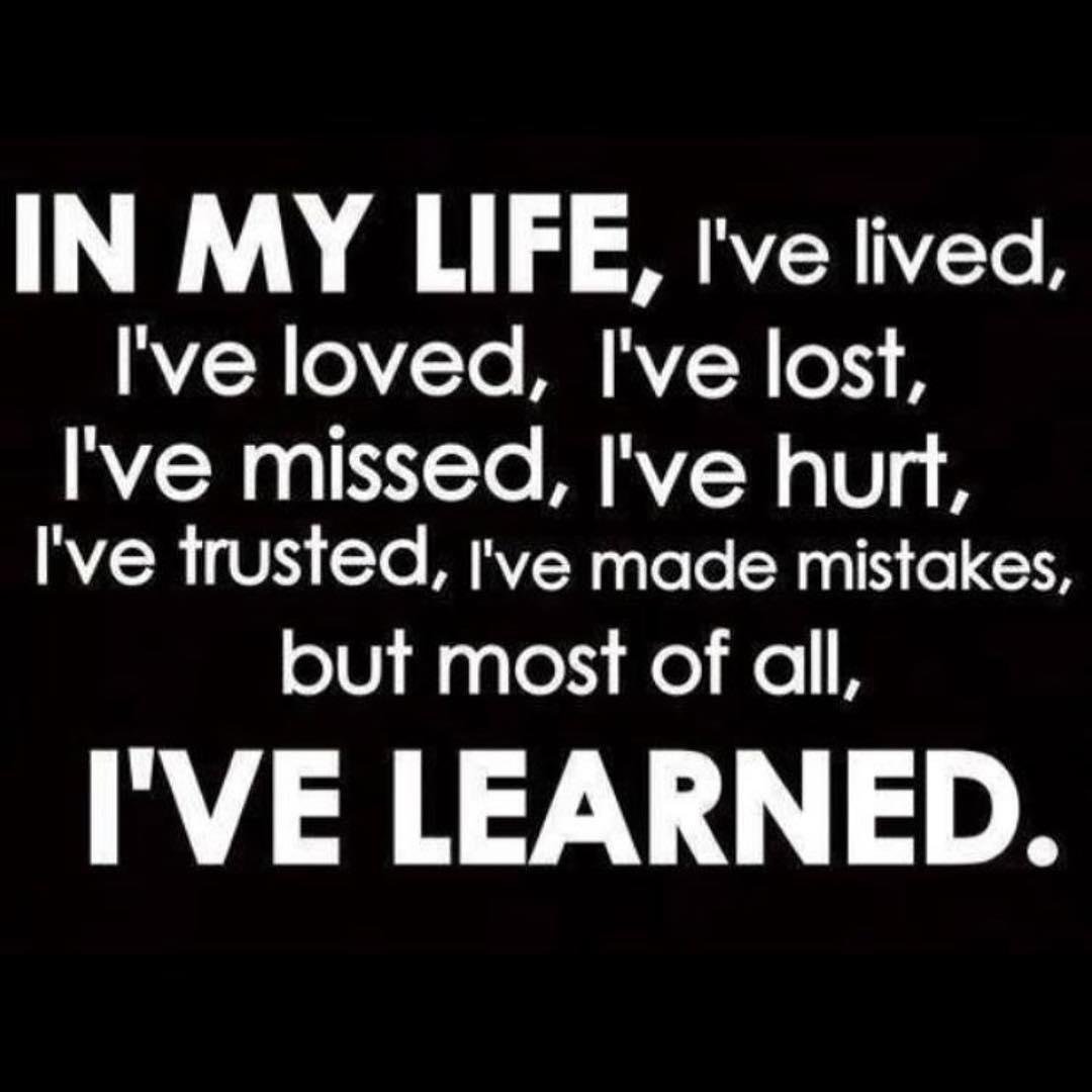 Life is a lesson, live it - Layzie Bone
