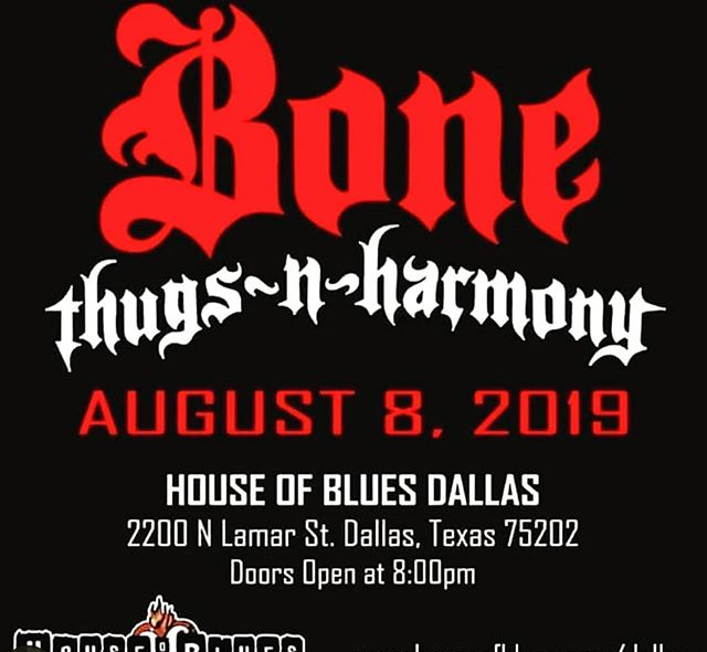 Bone Thugs n Harmony it's going down at the House of Blues! Layzie Bone