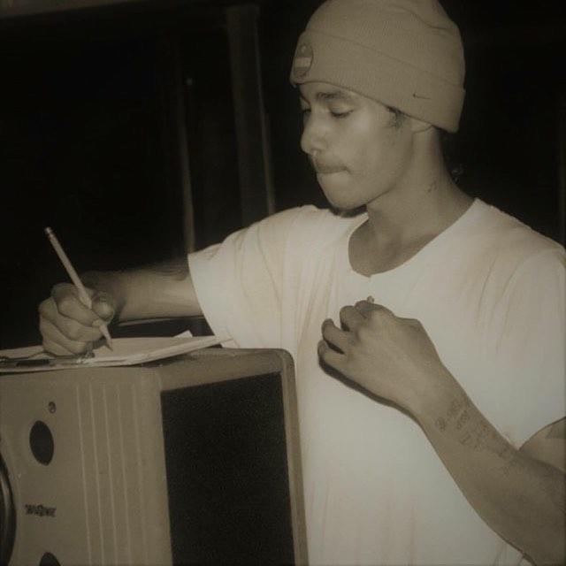 Young L Burna,writing raps