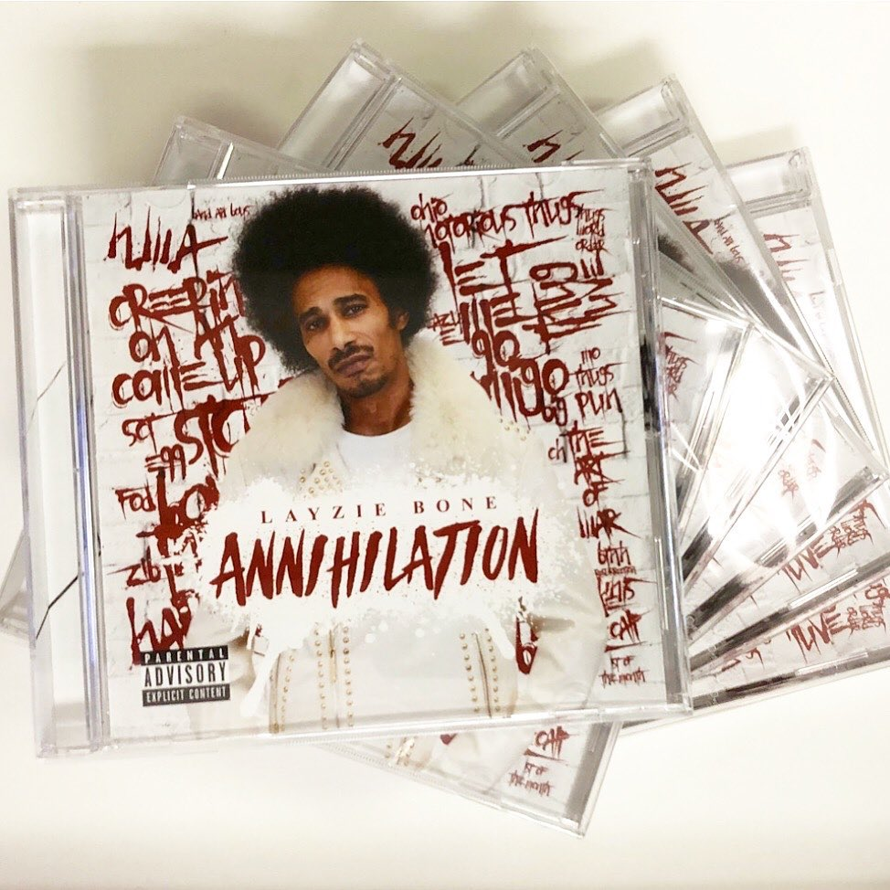 Annihilation out NOW, now shipping CD's and available on your streaming service of choice