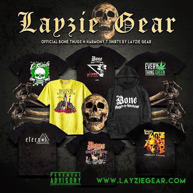 OFFICIAL Bone Thugs n Harmony shirts by Layzie Gear
