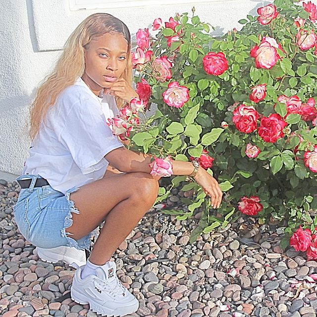 My baby Trinity Howse looking like a stunning young lady! - Layzie Bone