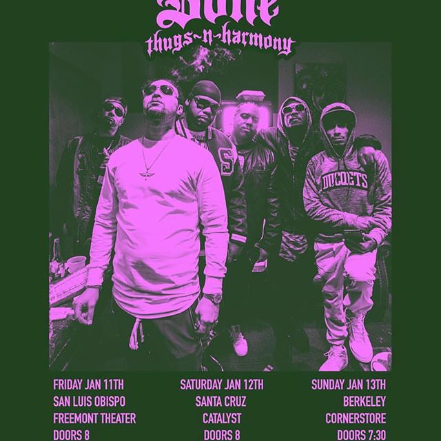 2019 grab those tickets, Bone Thugs N Harmony about to show up