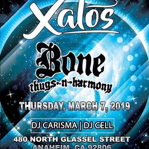 BTNH at Xalos Nightclub, mark the date - Layzie Bone