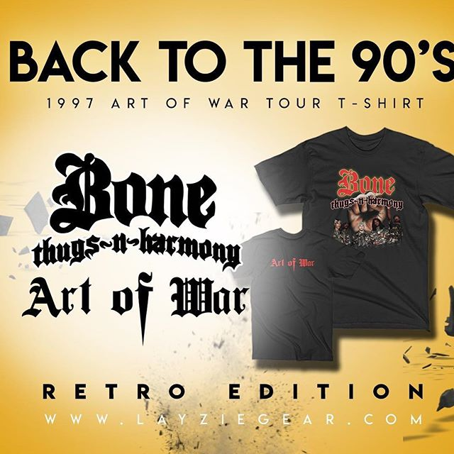 Layzie Gear, get it - The Official Home of Bone Thugs n Harmony online.