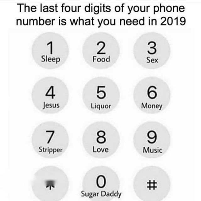 Last 4 digits are what you need, call it - Layzie Bone