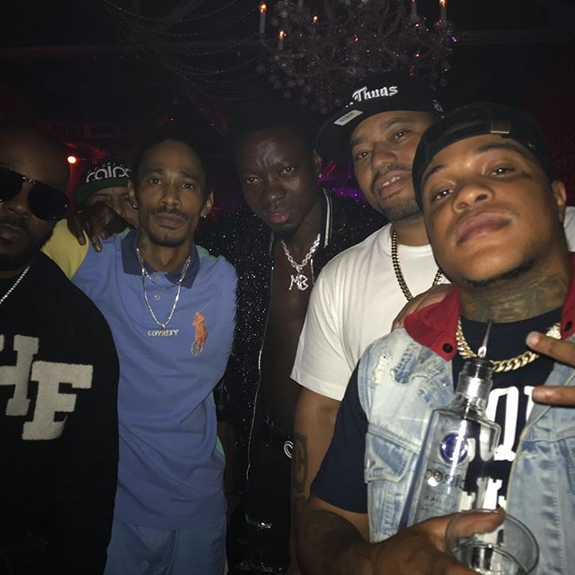 Party was Lit at the Ace of Diamonds club in LA - Layzie Bone