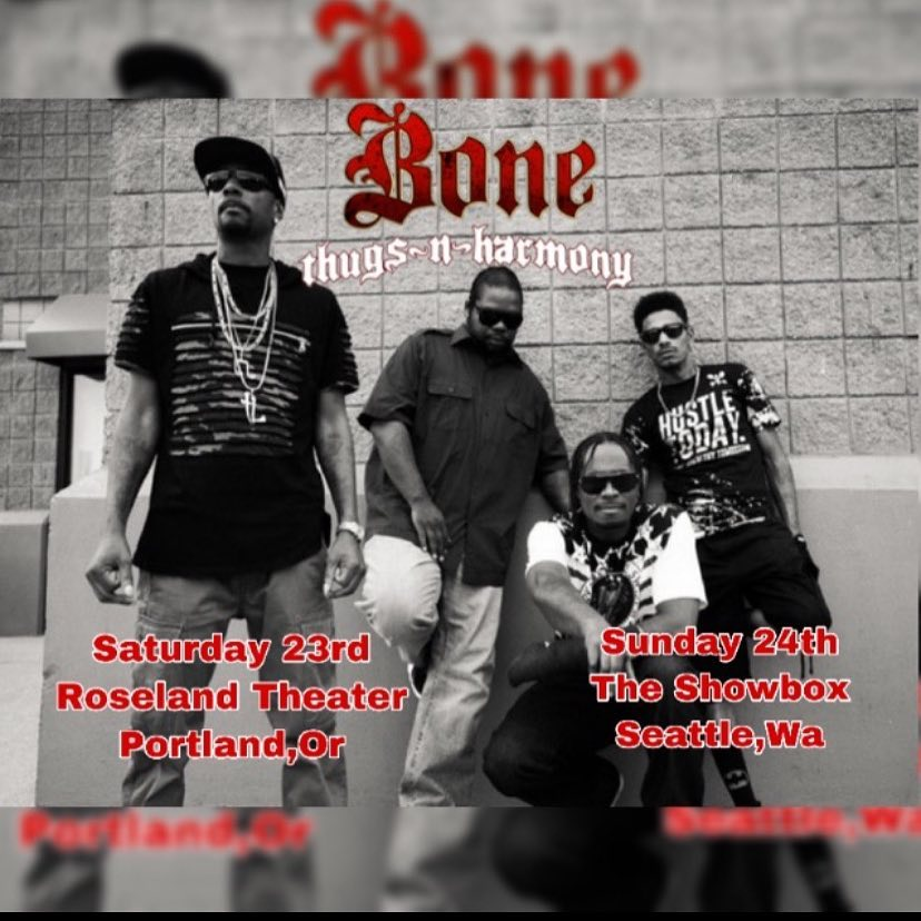 Bone Thugs n Harmony on the road - Layzie Bone