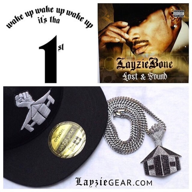 Love peace and blessings to yall, Lost and Found out soon! - Layzie Bone