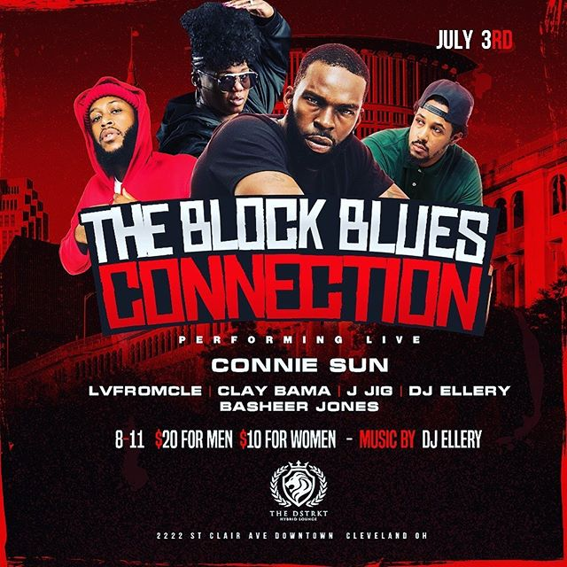 Hometown love and support, The Block Blues Connection - Layzie Bone