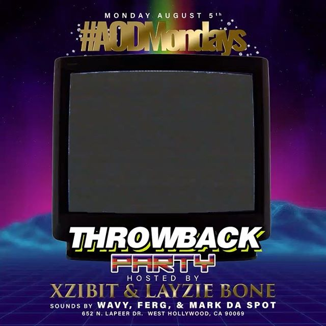 Throwback party hosted by yourself, Layzie Bone