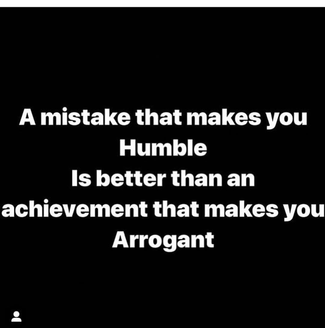 Stay humble, arrogance is a downfall - Layzie Bone