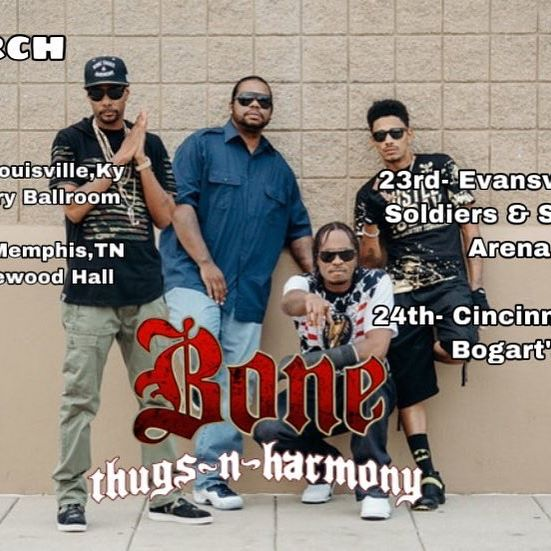 Bout to be one hell of a weekend, love to the Bone brothers, bout to go down - Layzie Bone